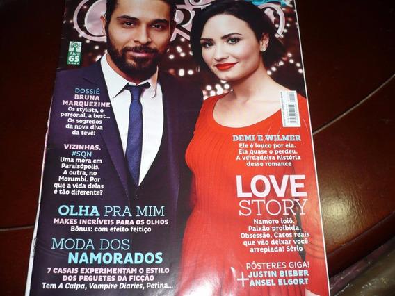 Revista Capricho Com Demi Lovato Na Capa E Reportagem