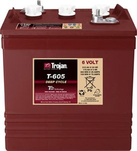 Batería Trojan 6v 210ah T605 P/ Paneles Solares Fotovoltaico