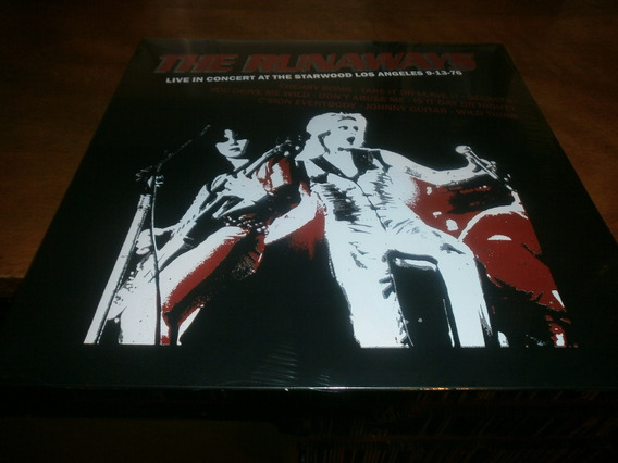 Runaways Live In Starwood 76 Lp Lita Ford