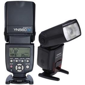 Flash Yongnuo Yn560iv P/ Canon T3 T5 T6 T3i T5i 6d 60d 70d