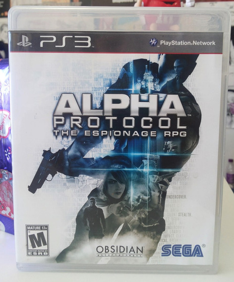 Jogo Alpha Protocol The Espionage Play 3 (original)