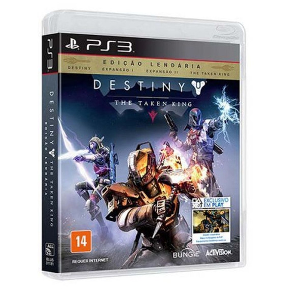 Game Ps3 - Destiny - The Taken King - Edicao Lendaria:destin
