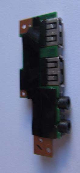 Placa Usb Com Aúdio E Microfone Notebook Cce Ultra Thin N325