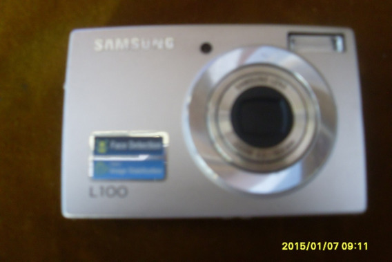 Camera Digital Samsung L100 Com Defeito No Bloco