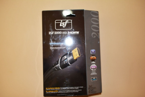 Cabo Hdmi Monster Isf 2000hd , 4k Com Performance Indicator