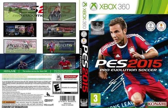 Pes 2015 - Pro Evolution Soccer 2015 Para Xbox 360 - Konami