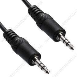 Cable Audio Stereo Miniplug 3.5mm 1.5m