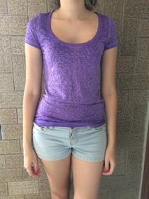 Camiseta Feminina American Eagle Blusa Frio Abercrombie Gap