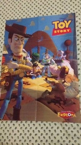 Toy Story Buzz Poster Disney Explora R$24,55