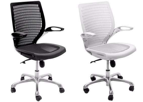 Cadeira Office Black Or White Hera Do Gelo Giratória Office