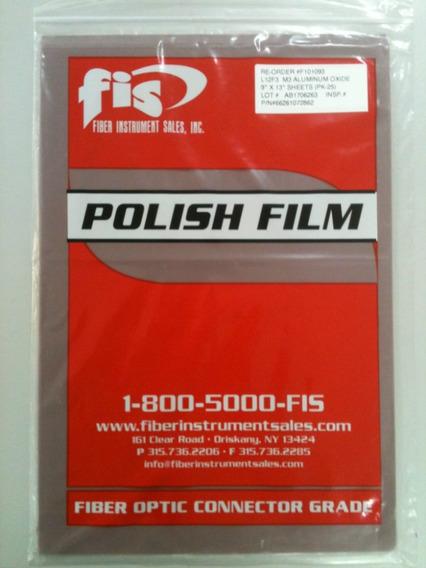 Lixa Para Polimento De Fibra Óptica - 3.0 Micron