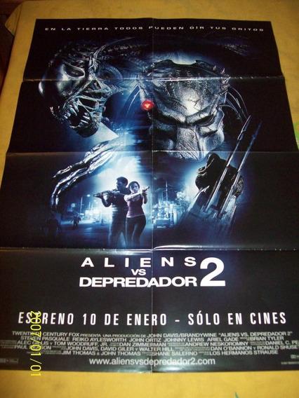 Aliens Vs. Depredador 2 Poster!!