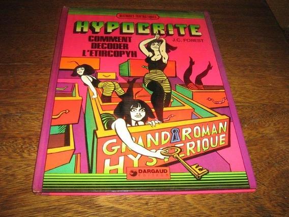 Hypocrite Formato Album Desenhos J C Forest 1973 Francês