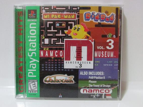 Namcomuseum Volume 3 - Game Play 1 Original E Completo