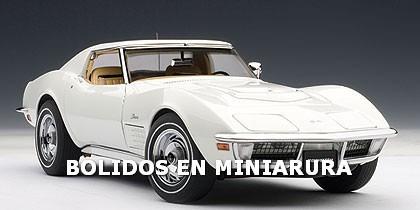 Corvette 1970 C3 - Icono Clasico - Muscle Car - Autoart 1/18