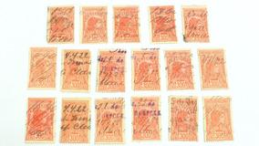 Selos Hoepcke Thesouro Nacional 300 Réis 1922 Floripa Raro