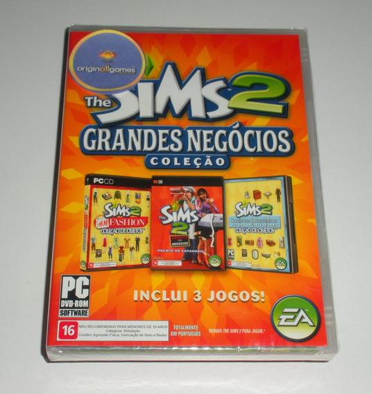 The Sims 2 Grandes Negócios ¦ Jogo Pc Orig Lacr ¦ M Física