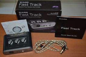 Placa Interface Fast Track M Audio Usb E Cd Driver