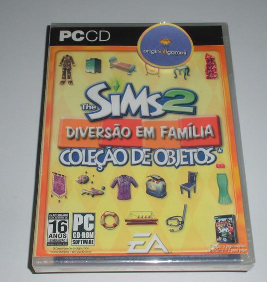 The Sims 2 Diversão Família ¦ Jogo Pc Orig Lacrad ¦ M Física