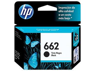 Cartucho Hp Original 662 Negro