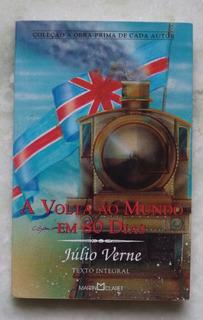 Livro A Volta Ao Mundo Em 80 Dais Julio Verne