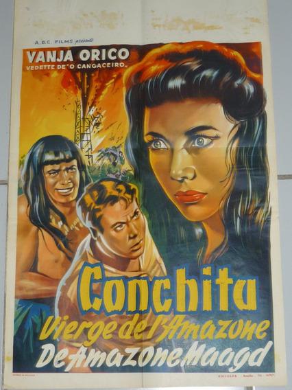 Macumba Com Vanja Orico Cartaz Belga 1954