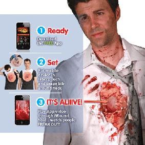 Camisa Digital -beating Heart Flesh Iwoundd