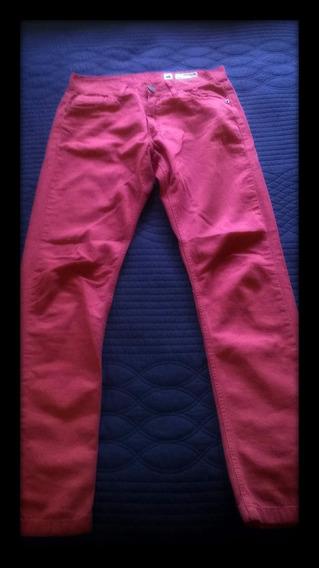 Jean Americanino - Color Rojo - Talle 30 Ofertón