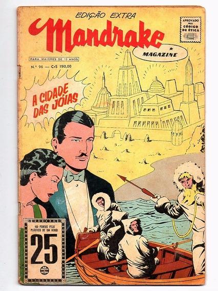 Hq Mandrake Magazine Nº 98 - Edição Extra - Rge