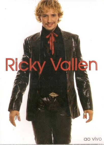 Dvd Ricky Vallen - Ao Vivo - Novo***