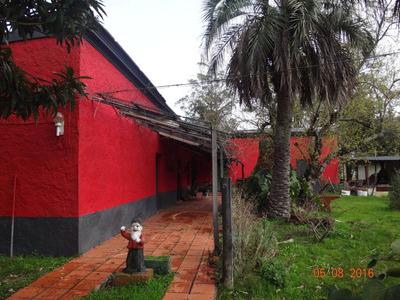 Espectacular Casona Antigua Con Chacra