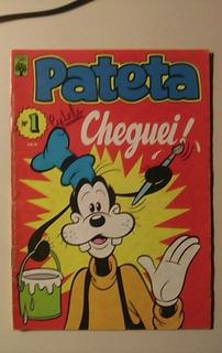Pateta Numero 1 -ano 1982-editora Abril