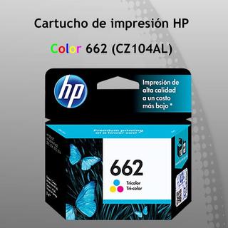 Cartucho Hp Original 662 Color