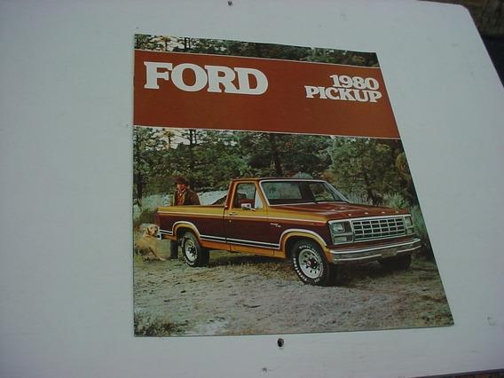 Folder Ford F100 F-100 Pickup Picape 80 1980 F150 F250 F350