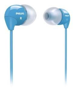 Philips She3590bl / 10 En La Oreja Los Auriculares (azul)