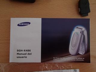 Manual Celular Samsung Sgh-x486