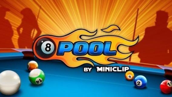 Fichas 8 Ball Pool (200 Mil Fichas Apenas R$ 1.95)