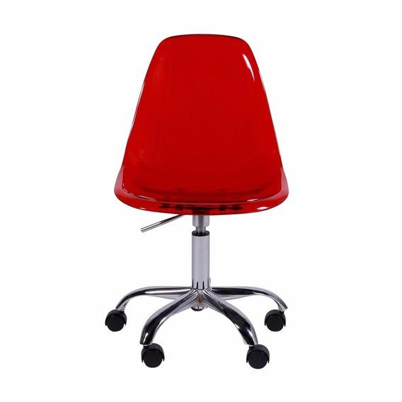 Cadeira Eiffel Office Escritório Rodízio Or Design 1101 Pc