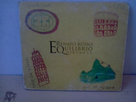 Cd Renato Russo Equilibrio Distante C/livreto 1º Ed Envio 9
