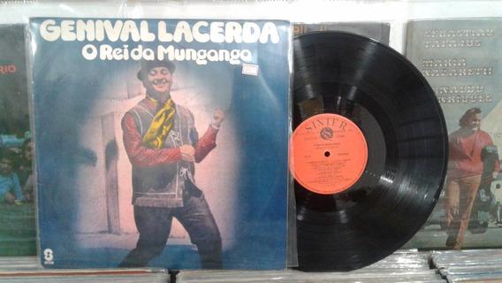 Lp - Genival Lacerda / O Rei Da Munganga / Sinter / 1980