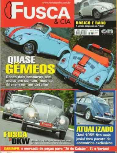 Revista Fusca E Cia - N°38