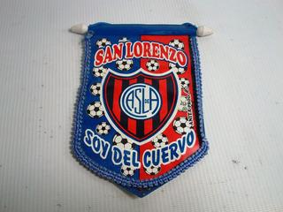 Banderin San Lorenzo De Almagro Casla Soy Del Cuervo