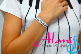 Pulseira Musica - Alanis Mania Musical Music Shopping