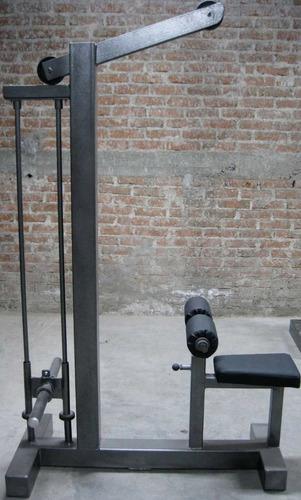 Polea Alta Para Discos Olimpicos Marca : Guerra Fitness