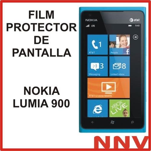 15c9c21a3f6 Plastico Protector De La Pantalla Lumia 900 Protectores - Accesorios ...