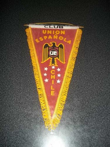 Banderin Triangular Colección Union Española