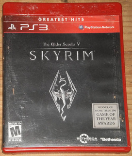 Ps3 The Elder Scrolls V Skyrim Df