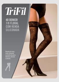 3eeed20cb 8 Com Renda Trifil Branca Meia 7 - Meias no Mercado Livre Brasil