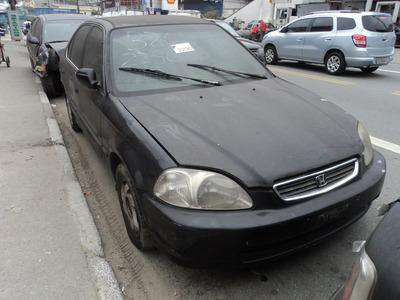 Honda Civic 1.6 16v Vtec 1999 (sucata Somente Para Peças)