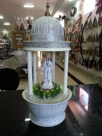 Abajur Cupula Fonte De Óleo Sagrado Coração Jesus Ou Maria